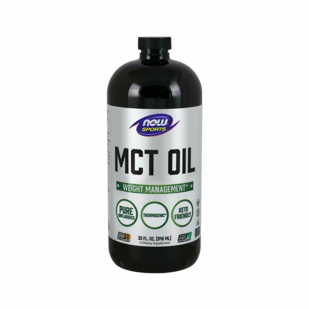 Now Foods MCT Oil Unflavored 100% Pure Weight Support & Ther