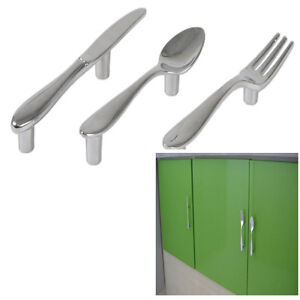Spoon Fork Knife Kitchen Drawers Lockers Cabinet Door Pull