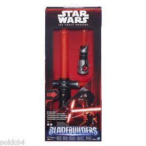 Star Wars Ep VII sabre laser elektronische BladeBuilders 2015 Kylo Ren Hasbro