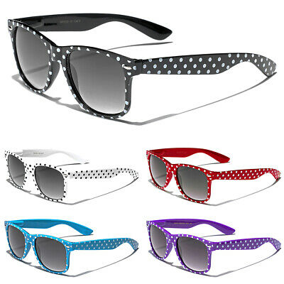 Polka Dot Women's Girls Sunglasses Retro Vintage 50's Fashion Designer Glasses](50s Girl Fashion)