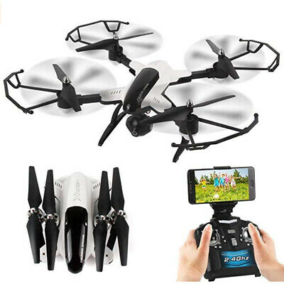 deAO X33C-1 2.4Ghz 6Axis FPV Folding Quadcopter Drone with WiFi Connector & More