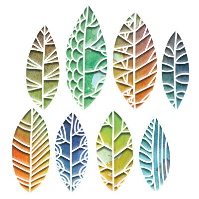 Sizzix Thinlits Die Set8PK- Cut Out Leaves by Tim Holtz -
