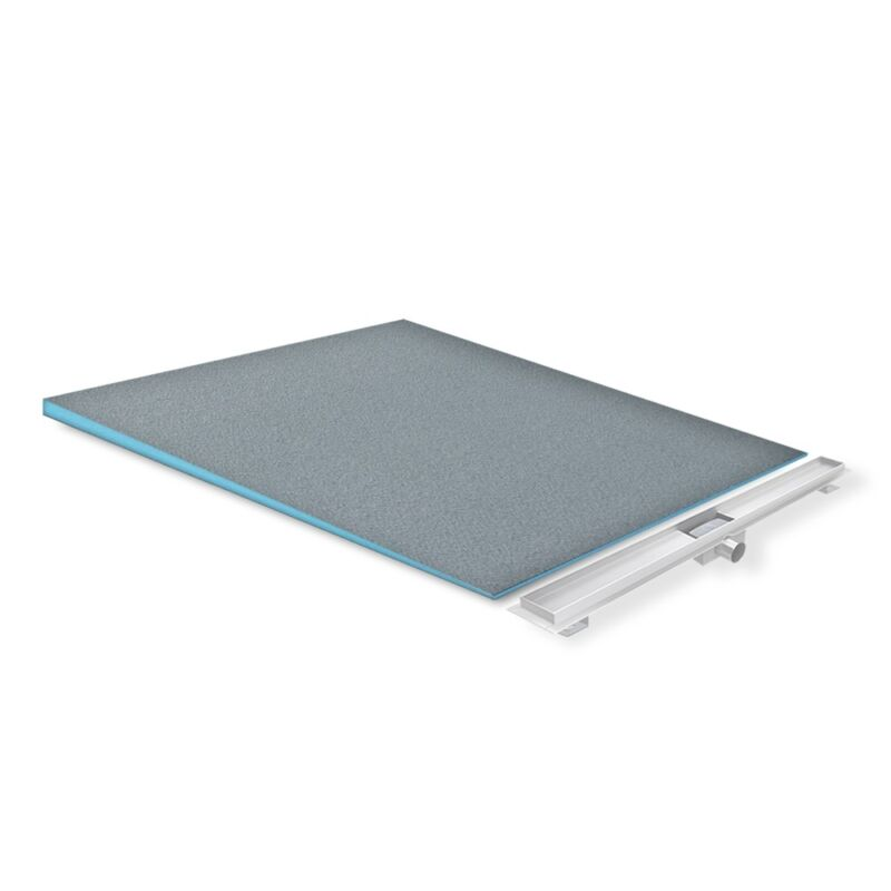 Duschelement Duschboard Gefälleplatte befliesbar XPS für alle Duschrinnentypen 70x120 cm