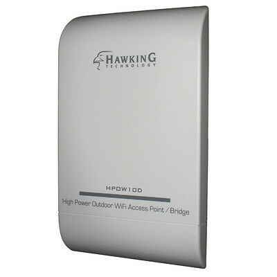 Wifi Access Point Bridge (Long Range Outdoor WiFi Directional Access Point, Bridge, Extender - HPOW10D)