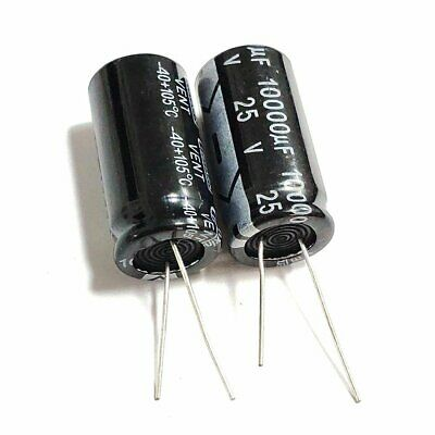 Usa Ship 5pcs 25v 10000uf 10000f 105c Aluminum Electrolytic Capacitor 1835mm