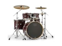 Good Drum kit with two symbles