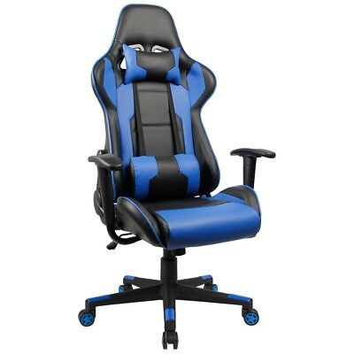 Homall Executive Swivel Leather Gaming Chair  Racing Style High Back Chair