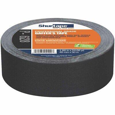 Shurtape 138775 P-628 Professional Coated 2 Gaffers Tape Black 48mm X 50m