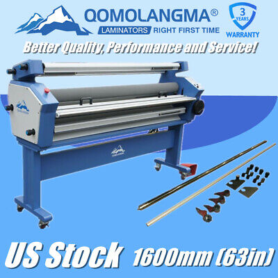 Usa Qomolangma 63in Full-auto Large Cold Laminating Laminator With Trimmer Blade