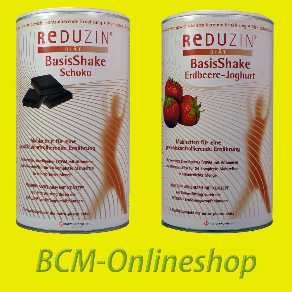 BCM Onlineshop - 2 Dosen REDUZIN BasisKost Diät Shake - abnehmen * 50 Portionen