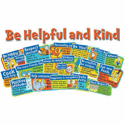 Be Bulletin Board (Dr Seuss Be Kind And Helpful Bulletin Board Set Eureka)