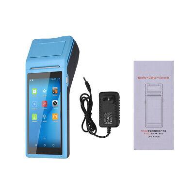 5.5touchscreen Wifi Android Pda Pos Terminal Bluetooth Receipt Printer Bt U6b6