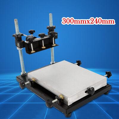 Brand New Manual Solder Paste Printerstencil Printer Machine Size 300x240mm