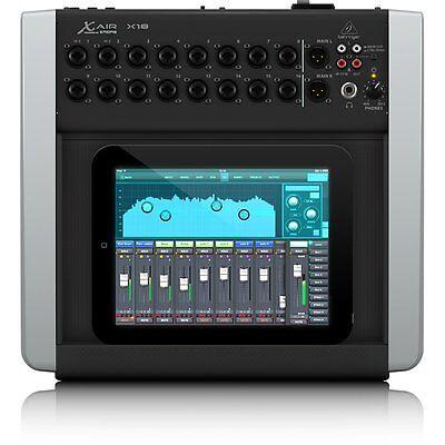 Behringer X Air X18 18 Channel Compact Digital Studio LIve Sound Recording (Live Compact Mixer)