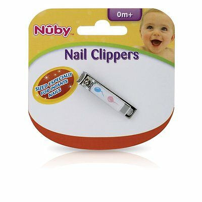 NEW Nuby Baby Nail Clipper Clippers Sized for Infants - 0 mo+ Newborn