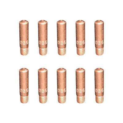 10-pk 11-35 .035 Contact Tips For Tweco Mini 1 Linc. 100l Mig Welding Gun 100a