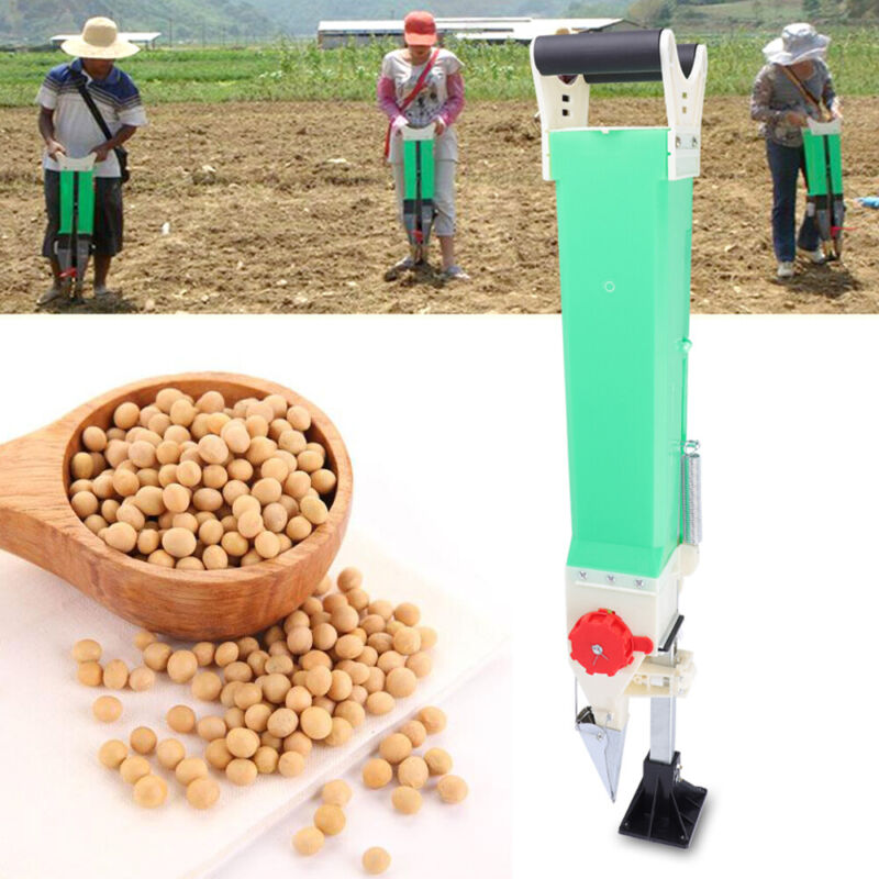 Manual Garden Home Seeder Hand Row Manual Vegetable Seeds Planing & Sowing USA