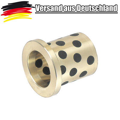 SANKYO Gleitlager Wartungsfrei mit Bund / Flunsh 8er Welle 8-14-10-2-10 mm L0106