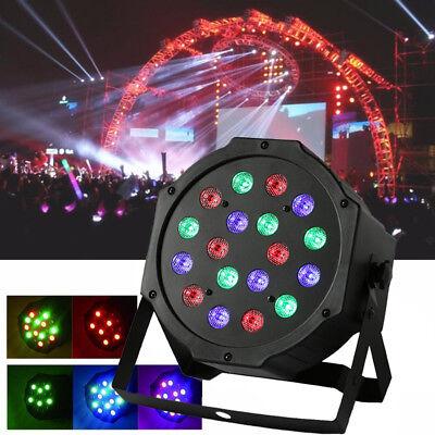 18 LED Stage Lights Dancing Floor Spotlight Party Ball Disco DJ Strobe Lighting
