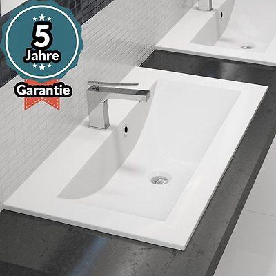 Design Einbau-Waschbecken Waschtisch - 90CM - Einlass-Waschbecken