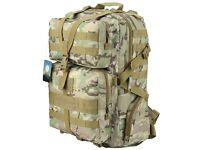 Hiking Backpack 45L Military