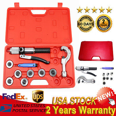 Hydraulic Tube Expander 7 Lever Tubing Expanding Tool Swaging Kit Tools Hvac