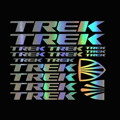 "Trek Bicycle Road Bike Decal Sticker Free Shipping 3.8/"" x 2.3/"""