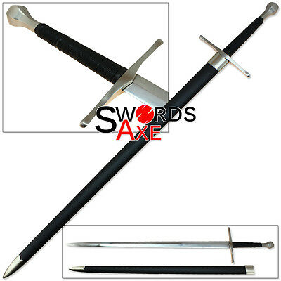 Sugoi Steel Cold Italian Long Sword 1060 Forged Steel Functional Battle Ready