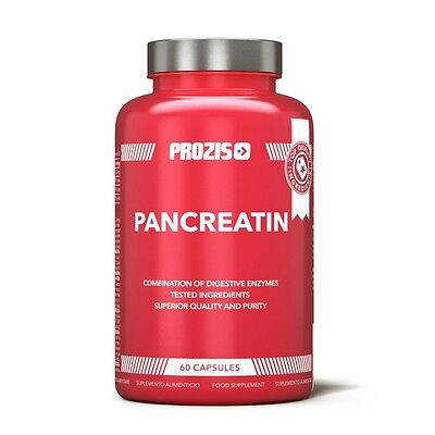 Pancreatina 60 capsule enzimi digestivi assorbimento dei nutrienti purezza