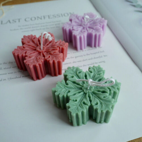 Snowflake Silicone Candle Mold Soap Aromatherapy Wax DIY Making Chocolate Mould