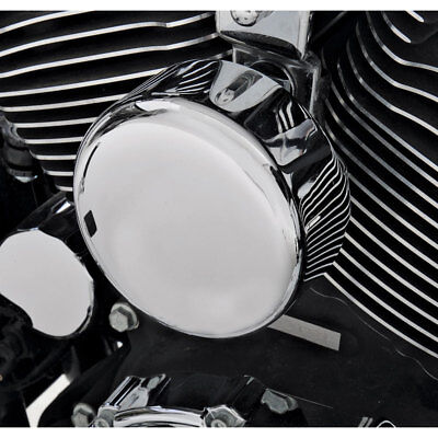 Used, Drag Specialties Chrome Smooth Horn Cover for 1991-2018 Harley for sale  Warminster