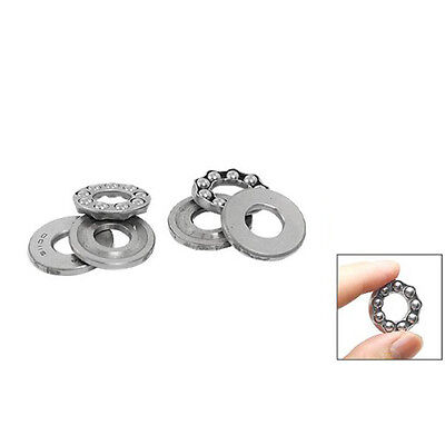 2 Pcs 10 x 24 x 9mm 51100 Single Direction Thrust Ball Bearings on Rummage