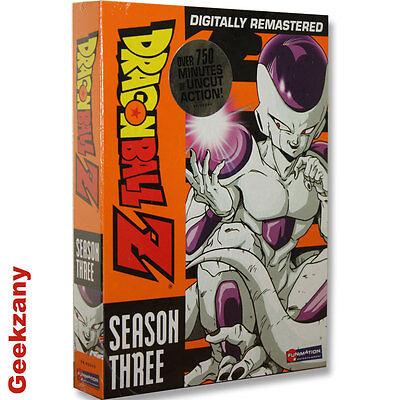 Dragon Ball Z - Season 3 (DVD, 2008, 6-Disc Set, Uncut) Digitally Remastered NEW