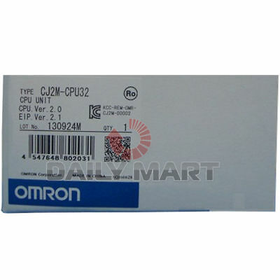 Brand New Omron Automation And Safety Cj2m-cpu32 Programmable Logic Controller