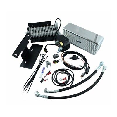 UltraCool RF-1SS Stainless Steel Oil Cooler Kit 99-08 Harley-Davidson Touring