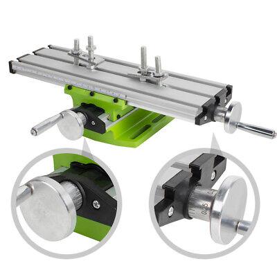 Milling Machine Work Table Cross Slide Bench Drill Press Vise Fixtureusa