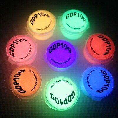 GLOW IN THE DARK Pigment Powder, luminous, phosphorescent, strontium aluminate - Glow In The Dark Jewelry