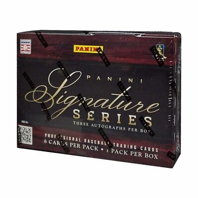 2012 Panini Signature Series Baseball Hobby Box