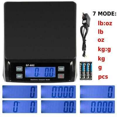 66 Lb X 0.1 Oz 30kg Digital Shipping Postal Scale Postage Weight With Ac Adapter