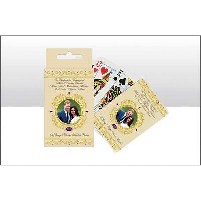 Prince Harry   Megan Markle Royal Wedding Commemorative Playing Cards