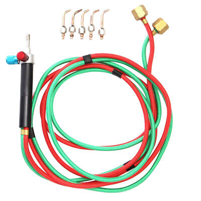 Hot Jewelry Jewelers Micro Mini Gas Little Torch Welding Soldering Kit 5 Tips
