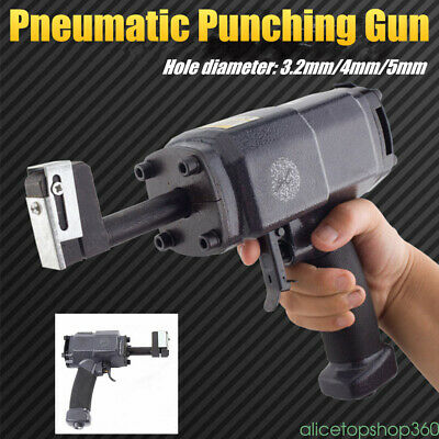 Air Hole Puncher Metal Stainless Steel Advertising Word Pneumatic Punching Gun
