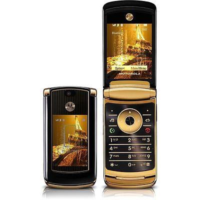 Motorola MOTORAZR2 V8 2GB Luxury Edition - Gold Unlocked 2MP Mobile Phone