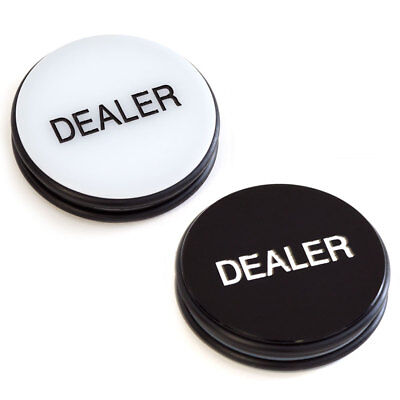 3-Inch Double-Sided Casino Grade Dealer Puck Button For Poker Games