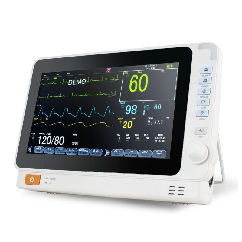 Medical ICU Vital Signs Patient Monitor 6 Parameter ECG/NIBP/SPO2/TEMP/RESP/PR U
