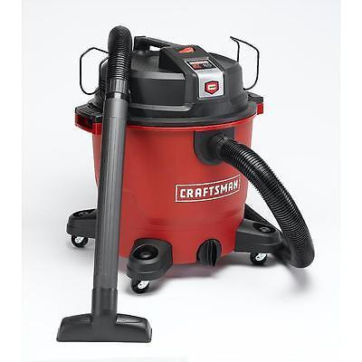 Craftsman XSP 16 Gallon 6.5 Peak HP Wet Dry Vac NEW Vacuum Shop Cleaner - NEW Craftsman Wet Dry Vacuums
