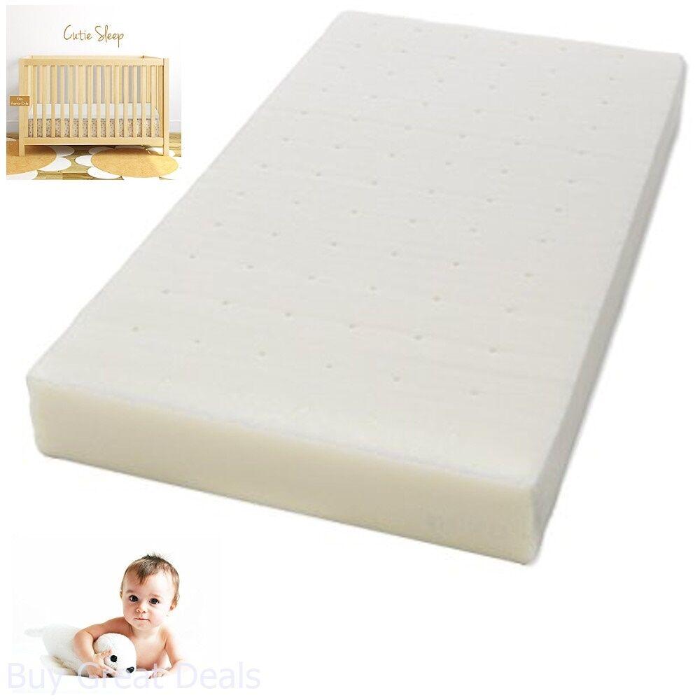 milliard mattress pads ventilated memory foam portable-crib mattress
