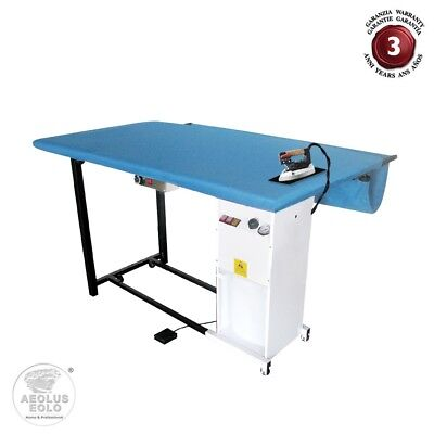 AEOLUS Industrial Large Ironing Table Blanket Vacuum Heated Steam Iron Rest TS07 for sale  Shipping to Canada