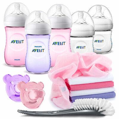 Philips Avent Baby Starter Neugeborenen Set 13 tlg. Babyflaschen Flaschenbürste