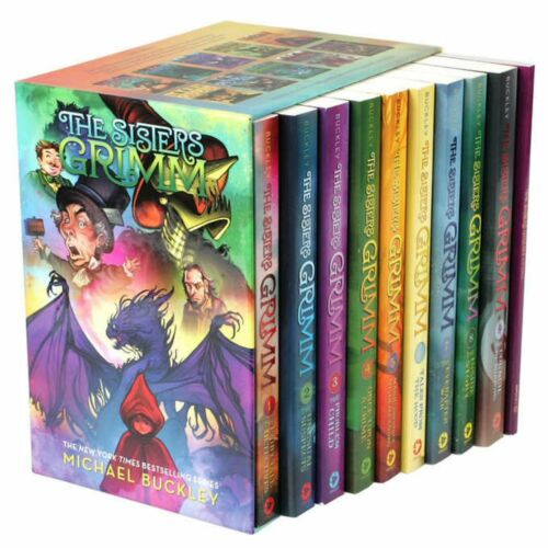 The Sisters Grimm: 10 Book Box Set by Michael Buckley @@